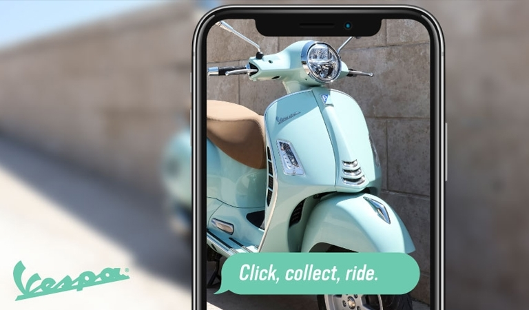 Vespa Click and Collect